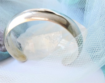 Cuff Bracelet Solid Sterling Silver Bracelet