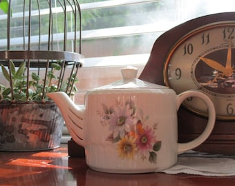 Vintage Ironstone Teapot by Ellgreaves Wood and Sons