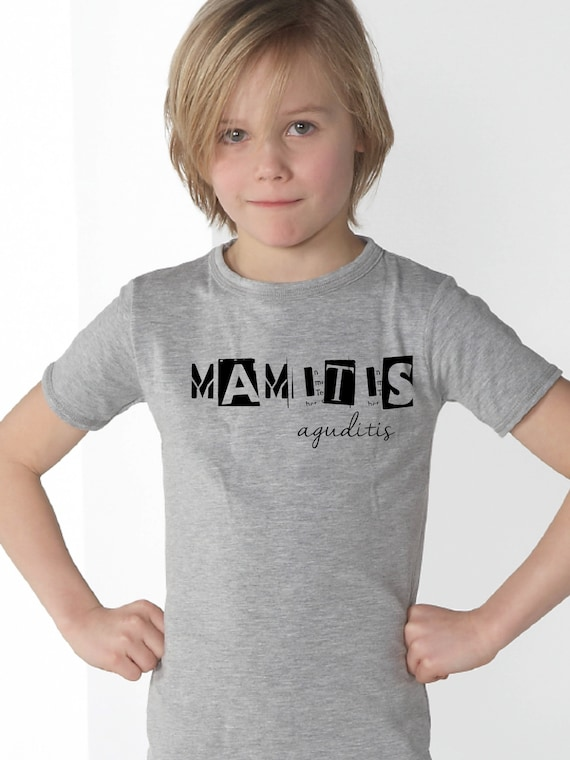 Boy t-shirt or body MAMITIS / PAPITIS AGUDITIS