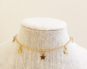 Star Dangle Choker
