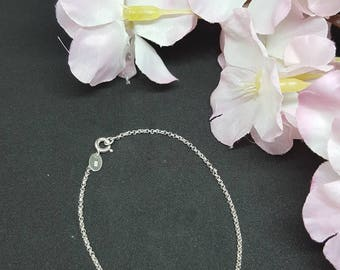 925 sterling silver bracelet, put on bracelets from pea necklace