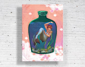 Bottled Coho Metal Print