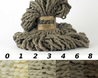 100% Pure natural wool COLOR #0 untreated, uncolored,  pure virgin wool