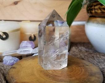 91g Citrine Quartz Crystal Wand, Generator Crystal