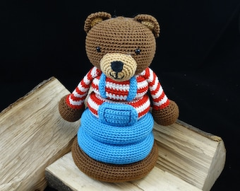 Pile of Bear Crochet