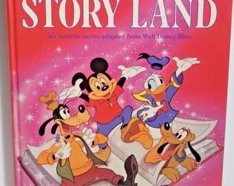 Vintage Walt Disneys Story Lane 55 Favorite Stories Golden Book 1961
