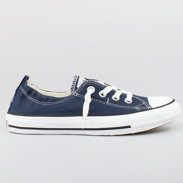 30fbd0af5858 Blue Converse Shoreline Slip on Navy Ladies Kicks Custom w  Swarovski  Crystal Rhinestone Jewels Bling Chuck Taylor All Star Sneakers Shoes