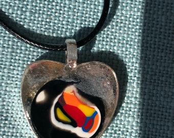 Uniquely Designed Heart-Shaped Pendant Necklace