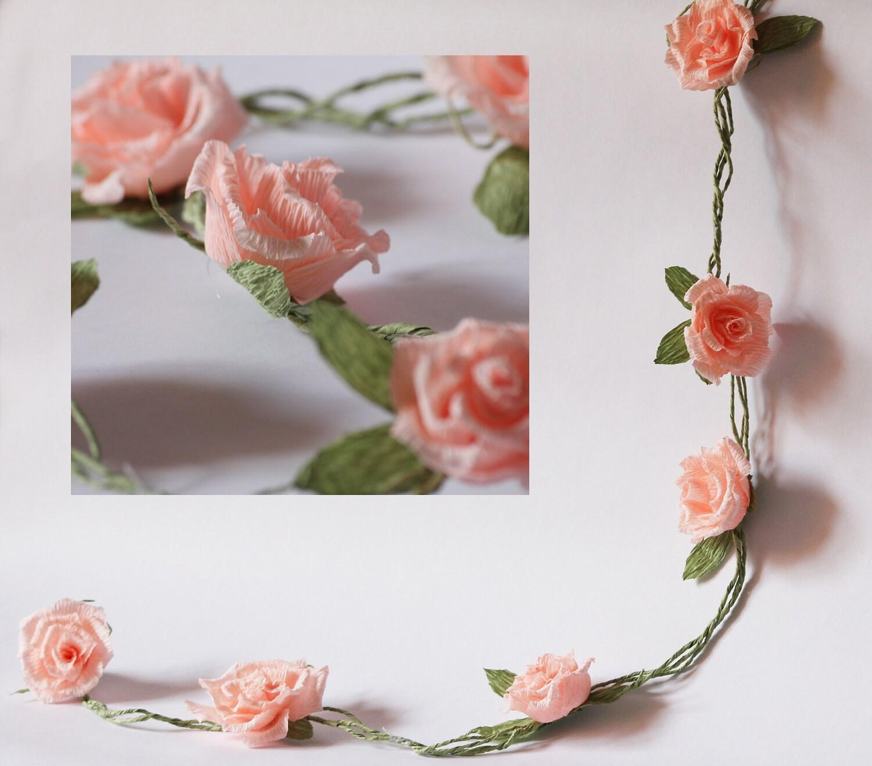 Flower paper garland geccetackletarts flower paper garland mightylinksfo