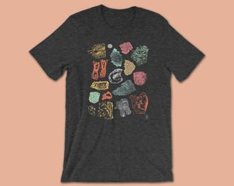 Geology Shirt | Geode Rock and Mineral Shirt | Science Shirt | Rock Collector | Gem, Rock, Crystal, Mineral | Geologist | Geology Gift |