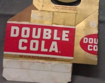 Double Cola Return Bottle Carton