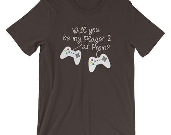 Funny Promposal shirt for Gamer