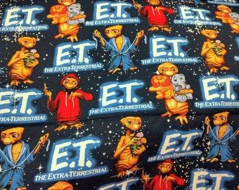 ET movie - Fat Quarter Fabric cotton Print