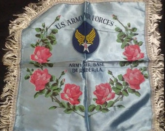 Spring Sale Vintage WW2 US Army Air Force Pillow Case Cover