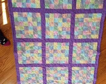Colorful Lap Quilt