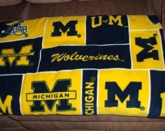 University of Michigan Wolverine Material