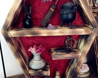 Petite Coffin Half Shelf