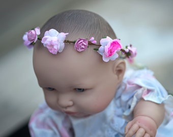Wreath for baby, doll or Teddy bear