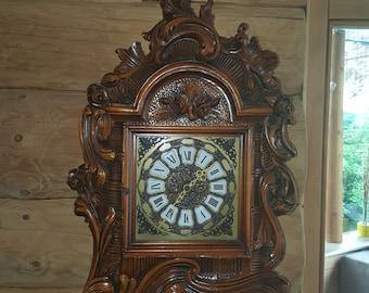 Grandfather clock Walnut