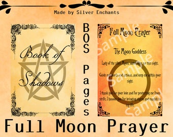 BOS Pages - Full Moon Prayer