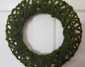 Moss wreath/ summer wreath/ spring wreath/ housewarming wreath/door wreath/ front door wreath