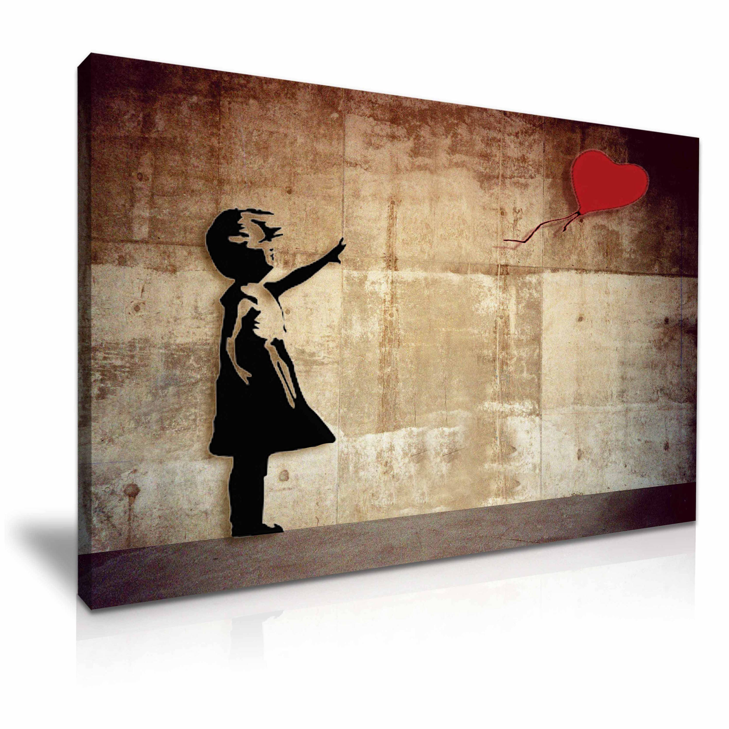Colorful Banksy Canvas Wall Art Sketch - All About Wallart ...