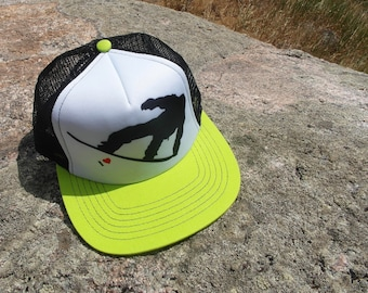 Snowboard Love- Kids Trucker Hat. Inspired by Youth and Designed in Colorado!