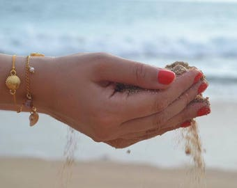 Sea shell bracelet - sea shell bracelet