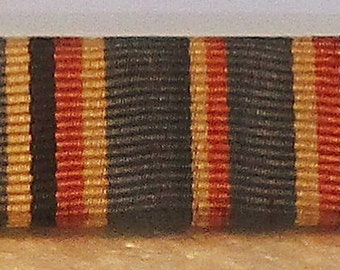 WWII Army 3 Place Ribbon Bar