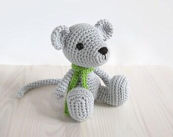 Tutorial Amigurumi : Pattern mouse pattern amigurumi mouse crochet tutorial