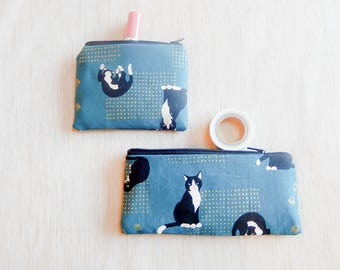 Gift for Women/ Cat Gift for Her/ Mothers Day Gift/ Pencil Case/ BFF Gift/ Cat Lovers Gift/ Bridesmaids Gift/ Wife Gift/ Gift for Mom/ Pouch