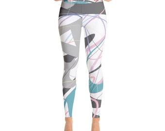 SGRIB Print - design 36 - Women's Fashion Yoga Leggings - xs-xl sizes