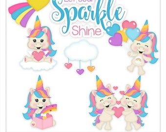 DIGITAL SCRAPBOOKING CLIPART - Sparkles - Exclusive