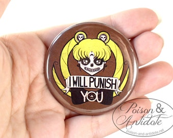 "2.25"" Sailor Muerte I Will Pin-ish YOU (2.25"" Pinback Button)"