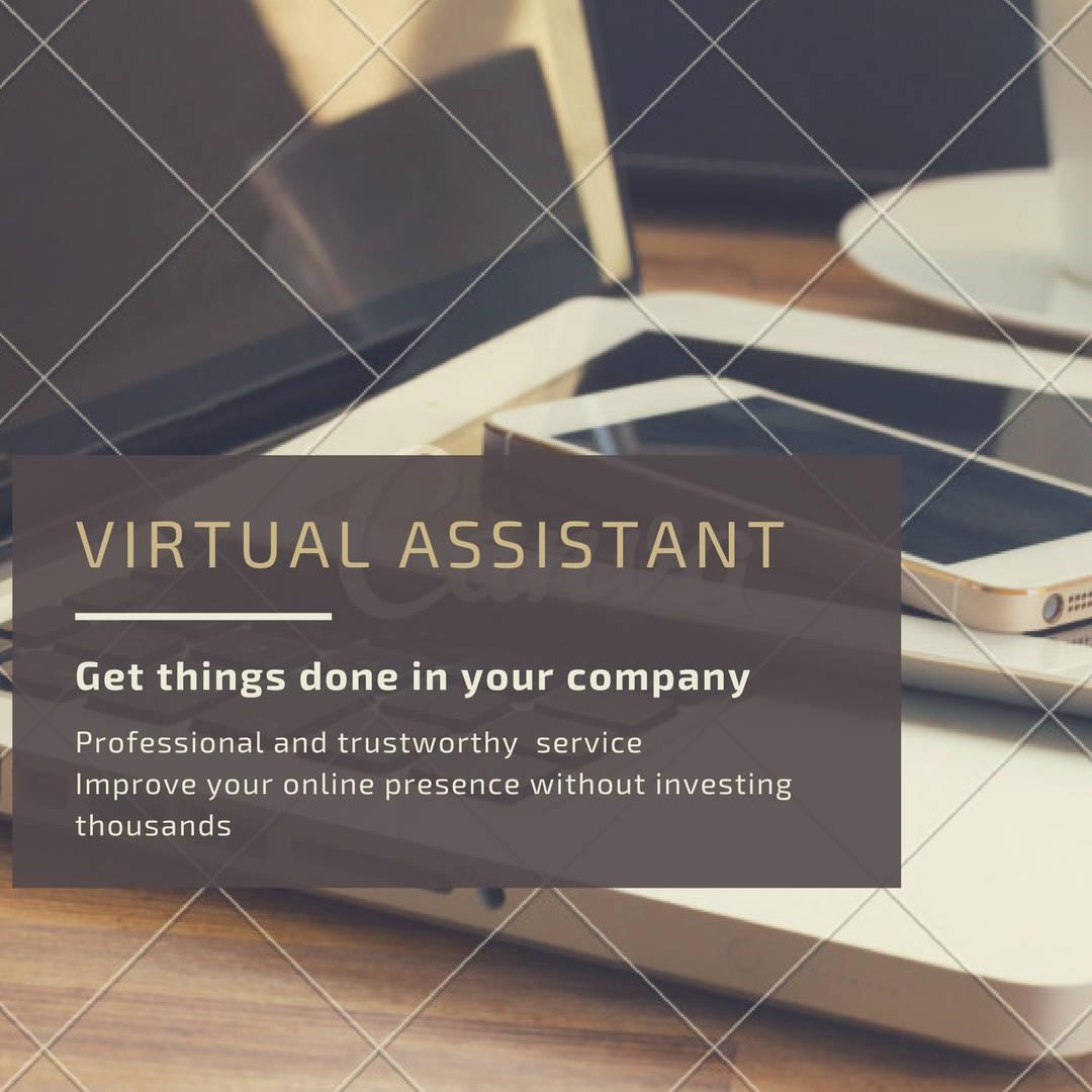 Virtual Assistant etsy assistant social media management