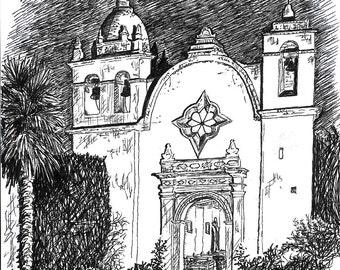 SALE Carmel Mission, CA notes
