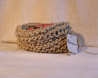 Hemp rope bag