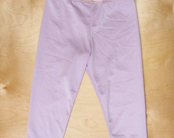 Lilac leggings with bows