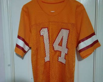 Retro Tampa bay buccaneers sand knit Jersey sz large