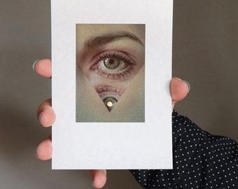 Golmen borth - Art print