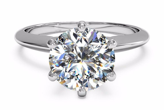 2 Carat Forever One Moissanite Engagement Ring Charles And