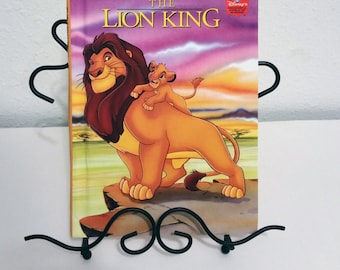 The Lion King Vintage Disney The Lion King Childrens Hard Cover Book Disneys Wonderful World of Reading