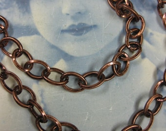 Copper Ox Plated Cable Chain 5019COP