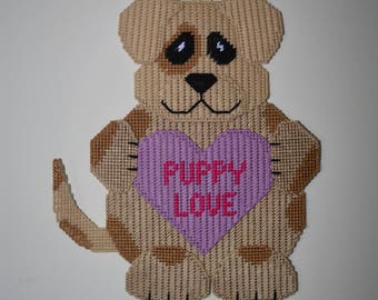 Adorable Valentine Dog With Puppy Love Heart