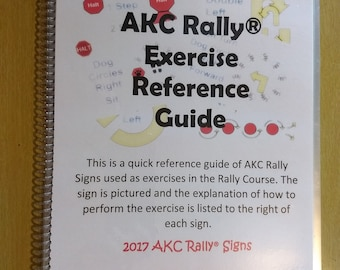 AKC Rally Exercise Reference Guide