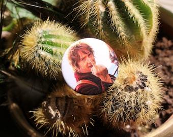 Martin Freeman as Bilbo Baggins in The Hobbit 32mm pin back badge