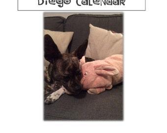 A Ruff Year: 2018 Diego Calendar