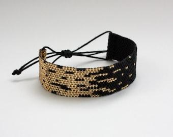 Bracelet black gold