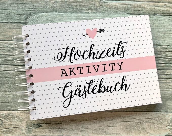 Wedding Activity Guestbook-Questions, secrets, creativity etc.
