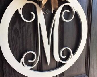 monogram door hanger initial door hanger m door hanger monogram initial door hanger & Initials door hanger | Etsy